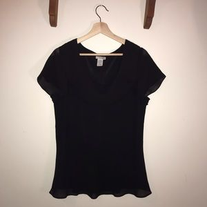 Black Blouse by East 5th